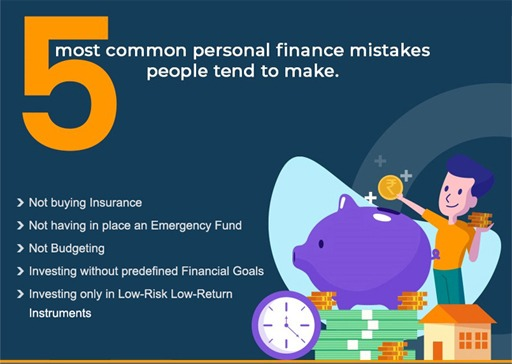 5 Most Common Personal Finance Mistakes